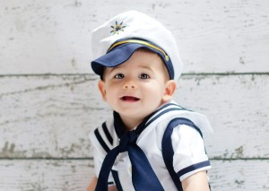Our pride and joy - our 1 year old son Mason